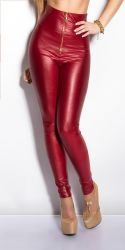 Leggings - H�j Talje - Wetlook
