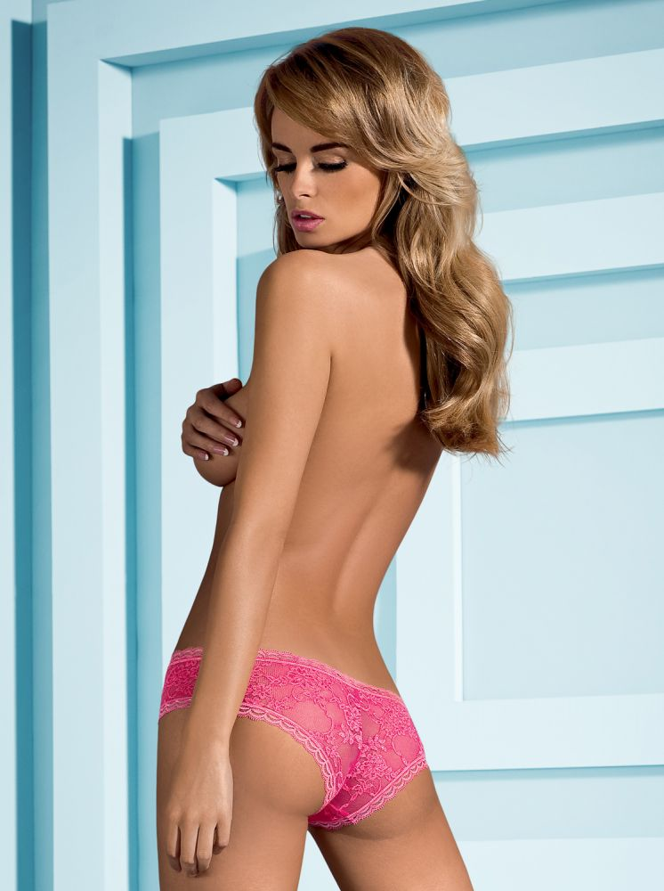 Hotina Blonde Shorts - Hot Pink
