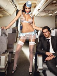 - Baci Airlines First Class Stewardesse (#1220)