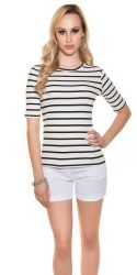 Bluser / T-shirts - Callie Top med striber