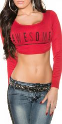 Toppe - Awesome - Crop Top